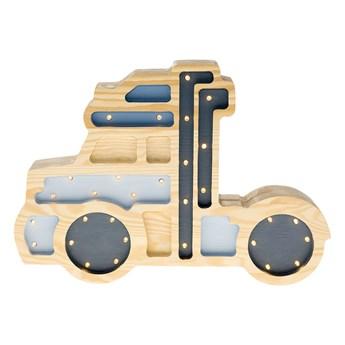 SELSEY Lampa dziecięca Ciężarówka niebieska