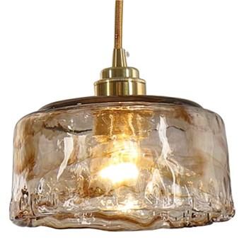 Lava 3 - lampa wisząca ręcznie formowane szkło