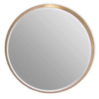 Okrągłe lustro w złotej ramie 100 cm 12F-361outlet