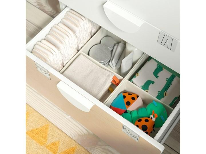IKEA SMÅSTAD / PLATSA Regał, Biały biały/ze stołem do przewijania, 210x79x181 cm Kategoria Zestawy mebli do sypialni