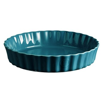 Turkusowa ceramiczna forma do ciasta Emile Henry, ⌀ 28 cm
