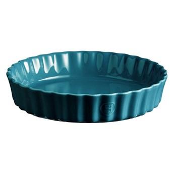 Turkusowa ceramiczna forma do ciasta Emile Henry, ⌀ 24 cm