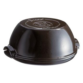 Czarna ceramiczna forma na chleb Emile Henry, ⌀ 29,5 cm