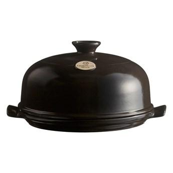 Czarna ceramiczna okrągła forma do pieczenia chleba Emile Henry, ⌀ 28,5 cm