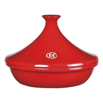 Czerwony tajine Emile Henry, ⌀ 32 cm