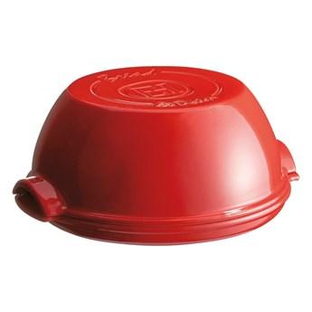 Czerwona ceramiczna forma na chleb Emile Henry, ⌀ 29,5 cm