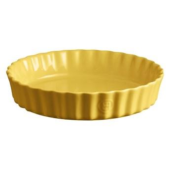 Żółta ceramiczna forma do ciasta Emile Henry, ⌀ 24 cm