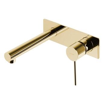 Bateria umywalkowa podtynkowa Corsan CMB7515 Lugo, Złoty