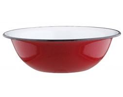 Miska emaliowana BIG RED 12 l