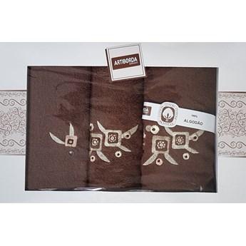 Komplet ręczników 3-częściowy KRZC3-25
