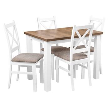 Stół + 4 Krzesła do Kuchni Jadalni 100x70