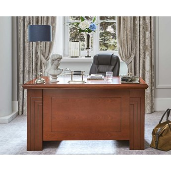 Stylowe biurko gabinetowe Master, 120x60 cm