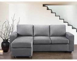 Narozna sofa tapicerowana - UMEA szara