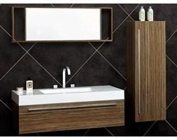 Zestaw mebli lazienkowych umywalka, lustro, 2 x szafki PALMA