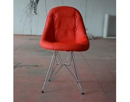Krzesło King Bath Eames EPC DSR ekoskóra czerwone LI-KK-132PU.M.CZERWONY + Transport juz od 8,90 zł