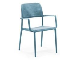 D2 Bora Krzesło Bora z podłokietnikami niebieskie - Bora_podł_niebieskie.