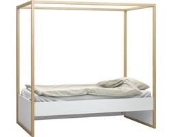 Łóżko 1-osobowe z baldachimem