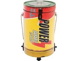 Kare Design Battery Pojemnik Na Śmieci Wielokolorowy, Żelazo - 35905