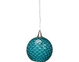 Kare Design Spa Ball Turquoise Lampa Wisząca Turkusowa, Żelazo Szkło - 36388
