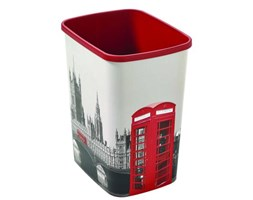 Kosz na śmieci FLIPBIN bez pokrywy 25L Londyn Curver_DARMOWA DOSTAWA !!!