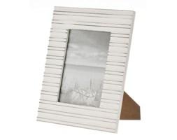 Dekoria Ramka MARINE, stojąca 22 x 27 cm białe drewno
