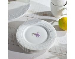 Dekoria Zestaw talerzy deserowych Fresh Lavender 4 szt śr. 19 cm
