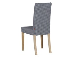 Dekoria Sukienka na krzesło Harry krótka w kolekcji Quadro nowość