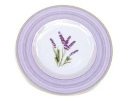 Dekoria Talerz obiadowy płytki Country Lavender porcelana 27cm