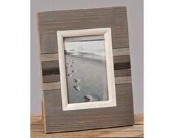 Dekoria Ramka foto North Sea drewniana 21,5x28cm kolor stalowy