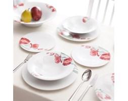 Dekoria Zestaw obiadowy Alice Red dla 6 osób 20cz. porcelana