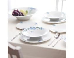 Dekoria Zestaw obiadowy Alice Blue dla 6 osób 20cz. porcelana