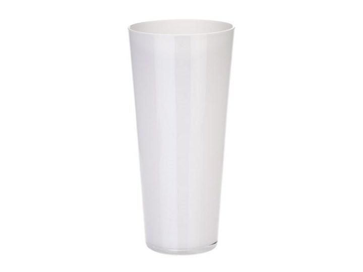 Dekoria Wazon MAGIC PASTEL biały wys. 30 cm