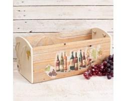 Dekoria Skrzynka drewniana Cottage wino