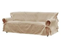 Dekoria Pokrowiec Loose uniwersalny na sofę 3 osobową, beżowy
