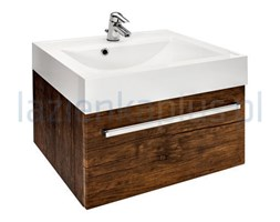 Szafka pod umywalkę 80 cm stare drewno Antado Spektra FDF-442/8GT-50