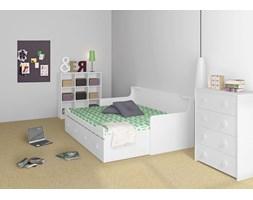 COMBEE białe łóżko młodzieżowe