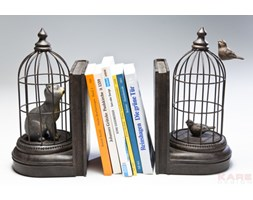 Kare Design Bookend Cave Cats Podpórka Na Książki - 34507