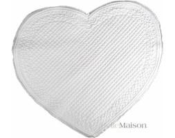 Dywanik Heart biały