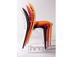 Krzesło Bladder czerwone - inspirowane Dandelion Chair