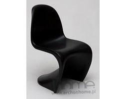 Krzesło dziecięce Balance Junior czarne - inspirowane Panton Jr