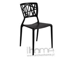 Krzesło Bush czarne - inspirowane Viento Chair