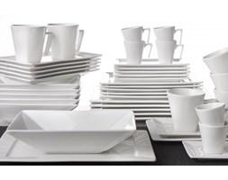 Serwis obiadowo-kawowy OXFORD BRANCO na 6 osób (42 el.)