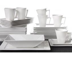 Serwis obiadowo-kawowy OXFORD BRANCO na 6 osób (30 el.)
