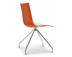 Krzesło ZEBRA Bicolore Trestle Base