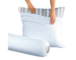 Poszewka na poduszkę z materiału frotté, gramatura 400 g/m², powlekana nieprzepuszczalnym materiałem z PCW