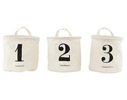 Pojemniki Numer 1 - 2 - 3 House Doctor