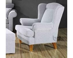 Stylizowany fotel z wysokim oparciem wybierz dowolną tkaninę!