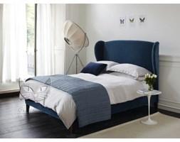 Łóżko Frou Frou stylizowane, wysokie wezgłowie materac 140/190