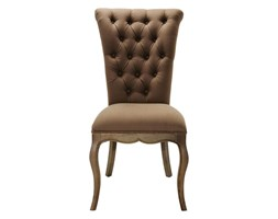 Kare Design Villa Oak Taupe Krzesło Drewno/Tkanina - 73645
