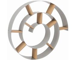 Kare Design Snail Półka Srebrna Lakierowany Metal 75x75 cm - 70755